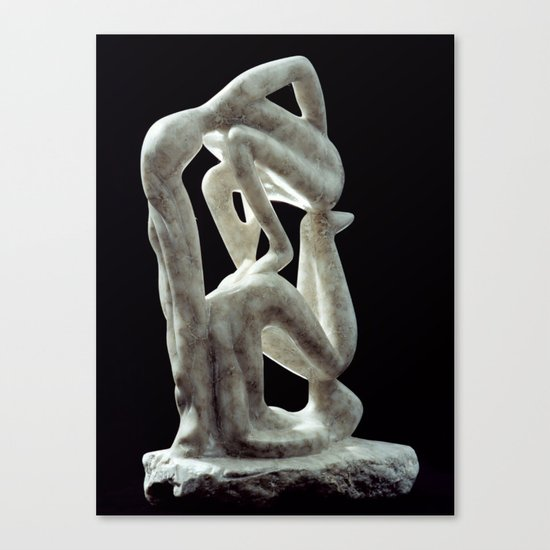 Amnon and Tamar by Shimon Drory Canvas Print