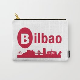 Bilbao, home of the Guggenheim and Athletic in Spain Carry-All Pouch