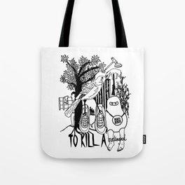 To Kill a Mockingbird (Bold) Tote Bag