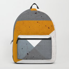 Modern Geometric 17/2 Backpack