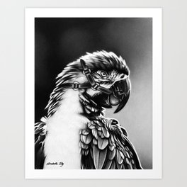 Safeword is Polly Art Print