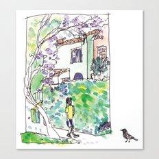 An Afternoon Walk Canvas Print