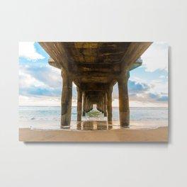 MB Pier Sun Metal Print