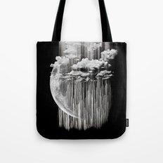 Planet Pixel Deep Black Tote Bag