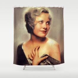 Joan Marsh, Classic Actress Shower Curtain