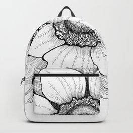 Anmone flower Backpack