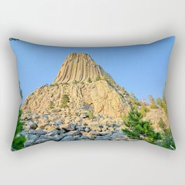 Devils Tower 2 Rectangular Pillow
