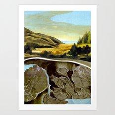 Down To The Sea Art Print