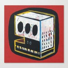 Skullcub profil Canvas Print