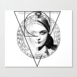 Homuncula: Pola Negri Canvas Print