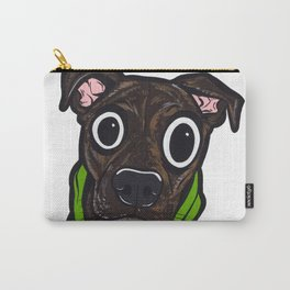 Pitbull Hoodie Carry-All Pouch