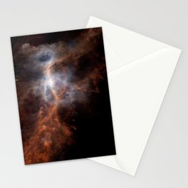 the hunter becomes fire | space #08 Stationery Cards