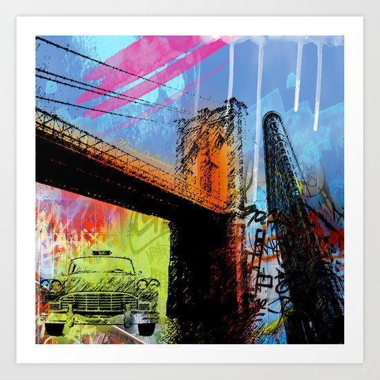 YORK, NEW YORK Art Print