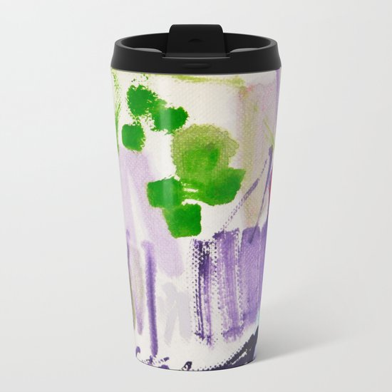 Doodles Paper by Elisavet World Metal Travel Mug