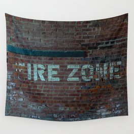 The (F) Ire Zone Wall Tapestry