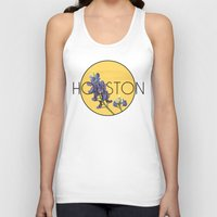houston Tank Tops featuring HOUSTON by Lauren Jane Peterson