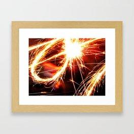 fourth of july Framed Art Print