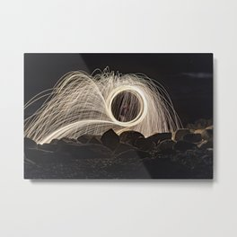 Firespinner #2 Metal Print