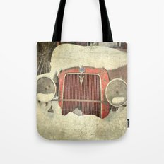 Ford in Winter Tote Bag