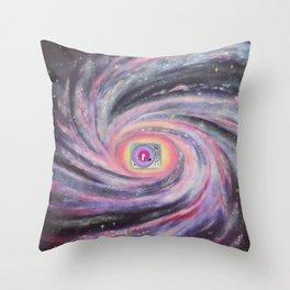 Galaxy Of Sound Throw Pillow