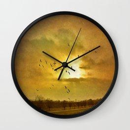 Comeback Wall Clock