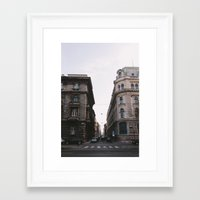 budapest Framed Art Prints featuring Budapest by Andreas Gillström