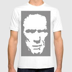 Harry Dots MEDIUM White Mens Fitted Tee
