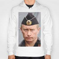 putin Hoodies featuring Putin seaman. by Mikhail Zhirnov