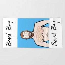 Beard Boy: Ginger Beach Towel