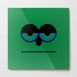 Mister Green Metal Print