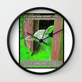 Scripture Pictures 18 Wall Clock