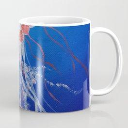 Jellyfish  Oil Painting by Faye Coffee Mug