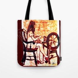 The Weaver         by Kay Lipton Tote Bag