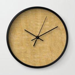 Black Limba Wood Wall Clock