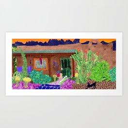 mesilla Art Print