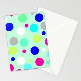 Mint spots Stationery Cards
