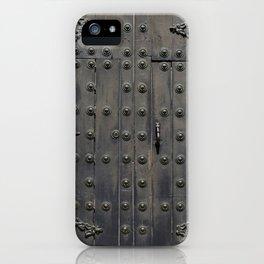 Old Black Door iPhone Case