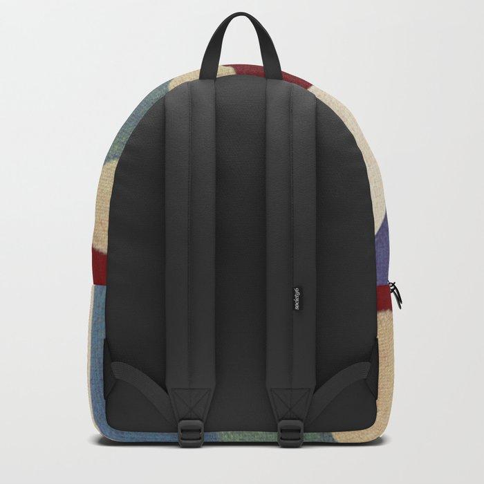 Lucha Libre Mask 4 Backpack