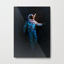astronaut. breakthrough.  Metal Print