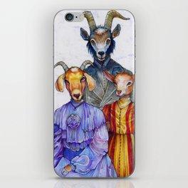 the van Goatsians iPhone Skin