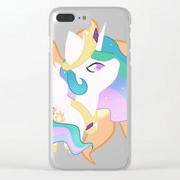 Chibi Princess Celestia Clear iPhone Case