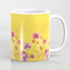 Golden // Sunny Floral Print Mug