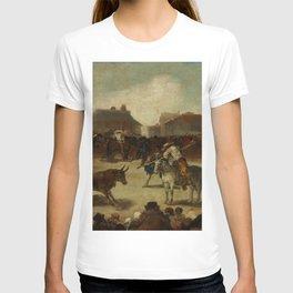 """Francisco Goya """"Corrida de toros en un pueblo"""" T-shirt"""