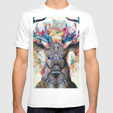 Unconfined LARGE Mens Fitted Tee White