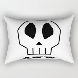 Aww Skull Rectangular Pillow