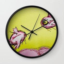 Prehistoric Fish Wall Clock