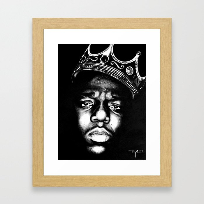 The King of NY Framed Art Print