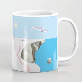 White Silence Coffee Mug