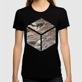 Brown Marble Texture T-shirt