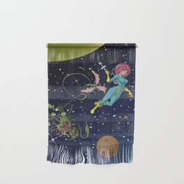 Astro Girl Wall Hanging
